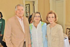 Jerry Ritter,  Laurie Caro, Peggy Ritter,