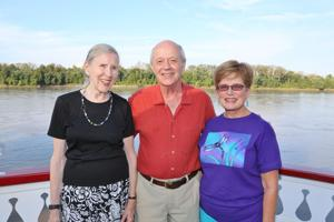 Clairborne Handleman, Murray Brooksbank, Peggy Sinclair