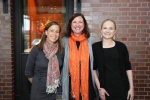 Anne McLaughlin, Shana Cook, Cassandra Edwards