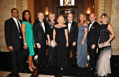 Kevin and Juanita Logan, Duke and Marcia Nieringhaus, Karen and Jim Shaughnessy, Cari Whiting, Tyler Troutman, Kerrie Caldwell-Troutman