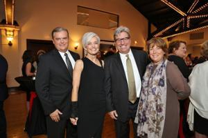 Mark Limbgren, Missy Kelley, Steve and Phoebe Smith