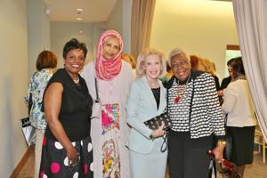 Dr. Gwendolyn Packnett, Dr. Maimuna Baig, Joan Berkman, Katie Wright