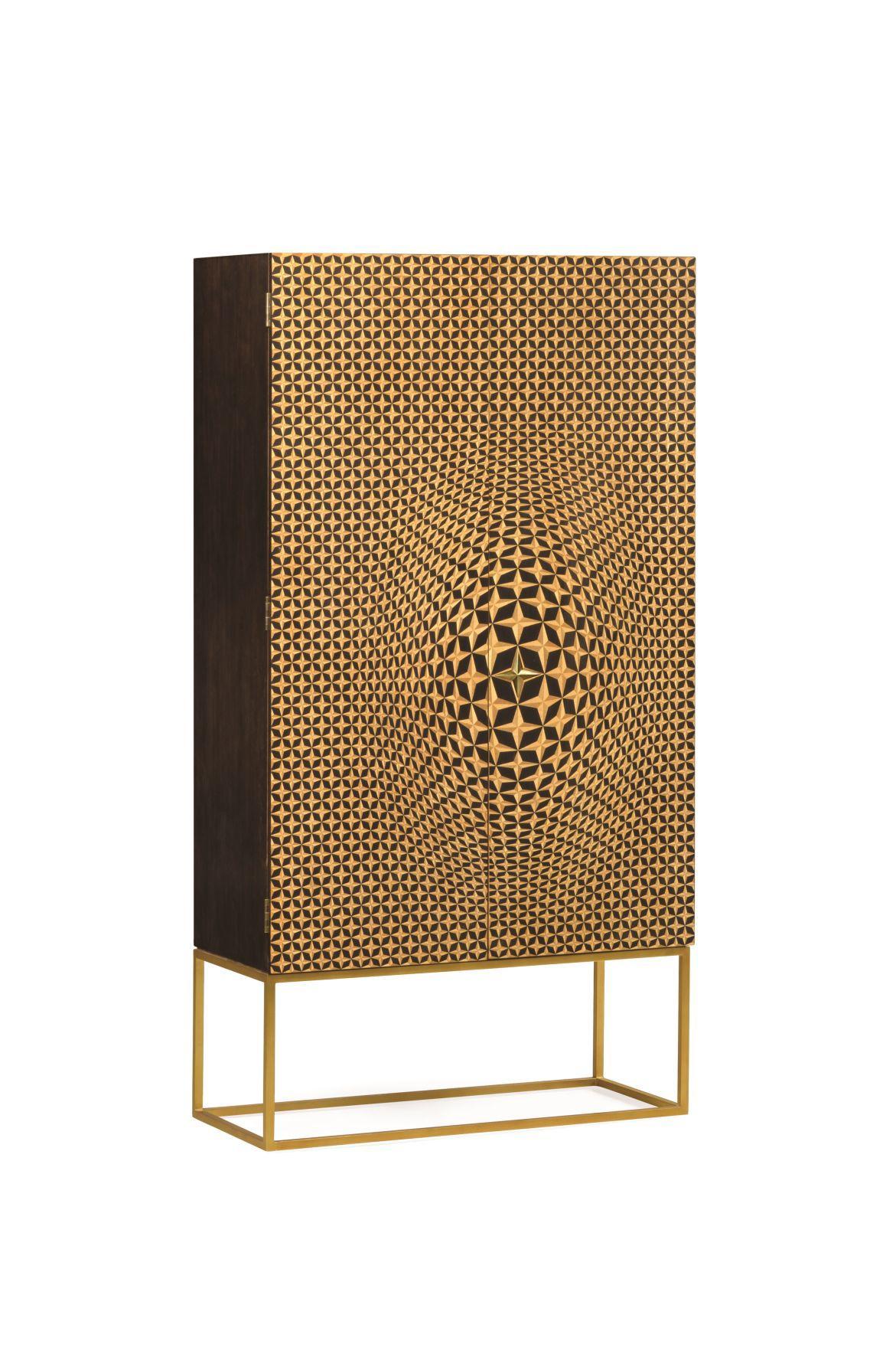 Jonathan Charles- Four-Point Star 3D Geometric Cabinet (2).jpg