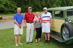 John Lowell, Jim Eager, Sue and Jim Eager