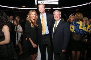 Lauren and Chris Pronger, Bob Gassoff