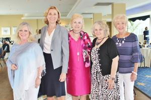 Nikki Bono, Carolyn Westhues, Joan Fitzgerald, Margie Nicolai, Betty Shepley