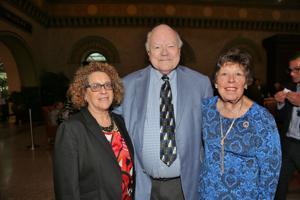 Dr. Frances Levine, Alan Wheeler, Christy Franchot James
