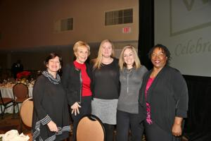 Susan Scribner, Tessa Greenspan, Lauren Curtis, Liz Haynes, Barbara Washington