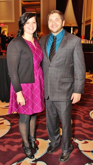 Jennifer and Ross Crawford