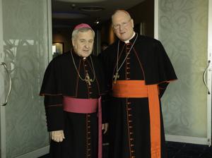 Archbishop Robert Carlson, Cardinal Timothy Dolan