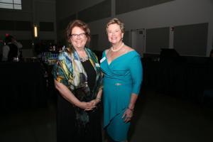 Executive Director Amy Bertschausen, Honoree Betsy Douglass