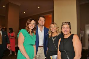 Shannon and Mike Carlson, Olivia Yarbrough, Cathie Crowley