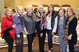 Barbara Shuman, Joan Berkman, Alice Handelman, Joni Karandjeff, Phyllis Langsdorf, Peggy Ross, Pam Toder