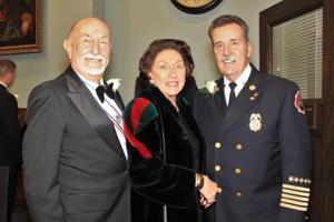Bill and Peg Cannon, Chief Dennis Jenkerson