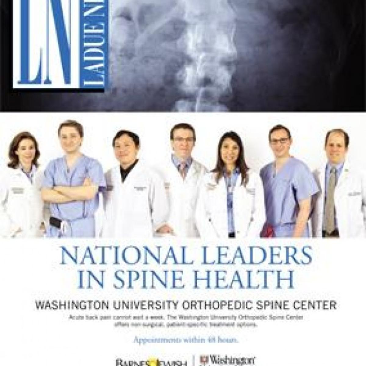 Washington University Orthopedics | Society | laduenews com