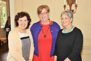 Sue Jackson, Sarah Scott, Laura Buhr
