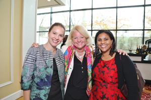 Kelly Pollock, Virginia Howell, Sophia Garner
