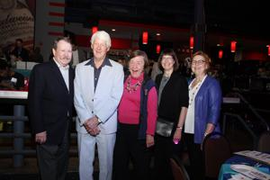 Jim Gamble, Tony and Melanie Fathman, Tonie Fitzgibbon, Susan Gamble