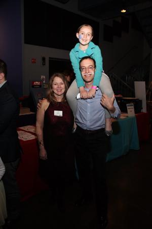 Deb, Rob, and Sophia Wagnon