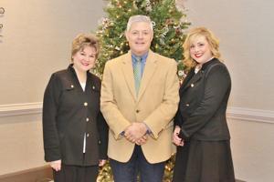 Lynn Anson, Joe Miller, Holly Bell (VITAS Healthcare)