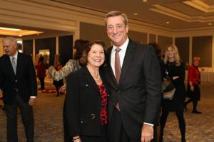 Michelle and Denny Reagan