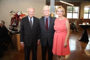 Gerry Ortbals, Honorable John Essner, Cyndi Newsome
