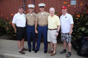 Harry Hegger, LtCol Kevin Shea, SgtMaj JD Jerome, Mickey Drake, Norm Harriman