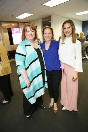 Susan Rowe, Emily Hellmuth, Aynsley Hensgen