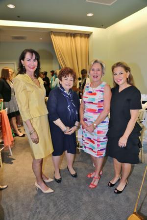 heri Sherman, Maxine Clark, Karen Castellano, Pam Toder