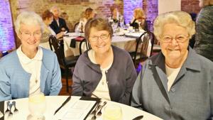Sister Rita Downey, Sister Beth Marie Ruder, Sister Helen Brewer