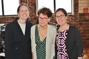 Amanda Schneider, Mary Moore, Jeanne Phillips-Roth