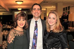 Jenna Voss, Dr. Patrick and Dr. Elizabeth White