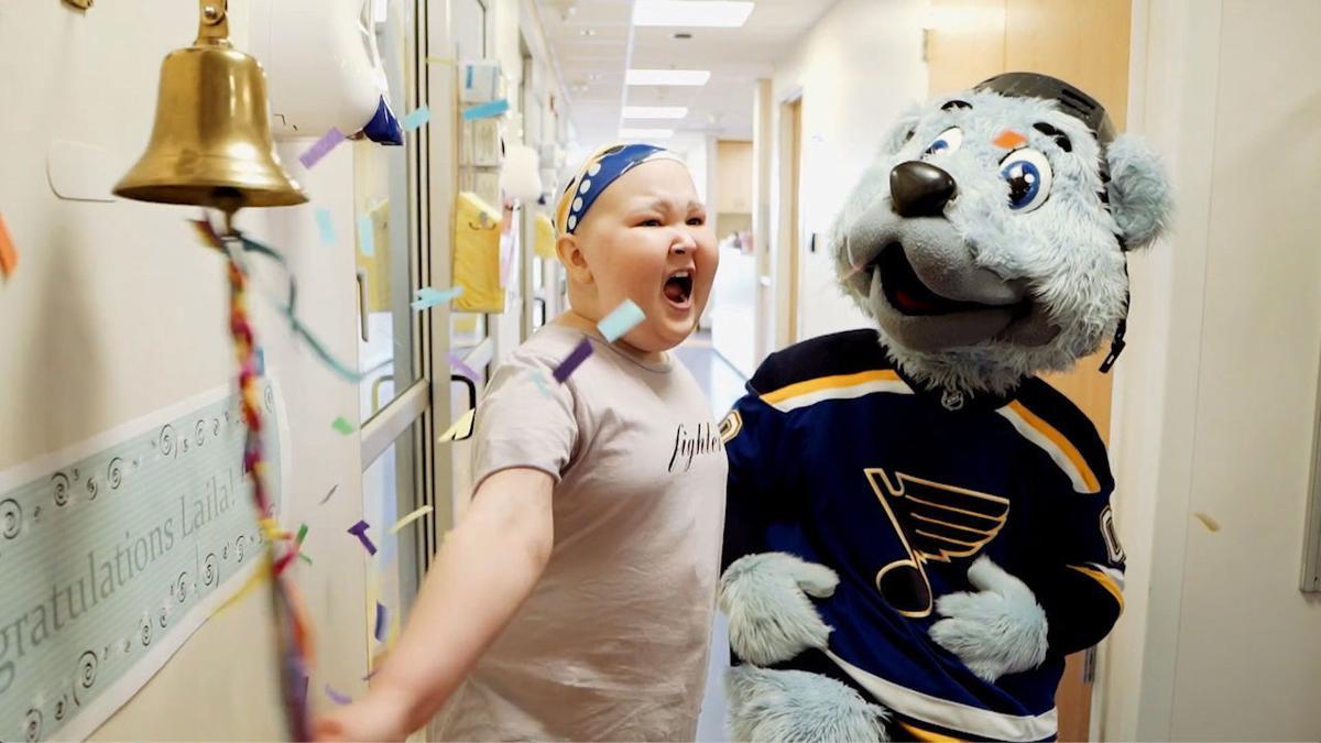 St. Louis Children's Hospital - Laila The Next Season - Laila Rings  the Bell.jpg