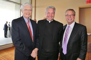 John Vatterott Chairman of the Board, Father Mitch Doyen, John Gatewood
