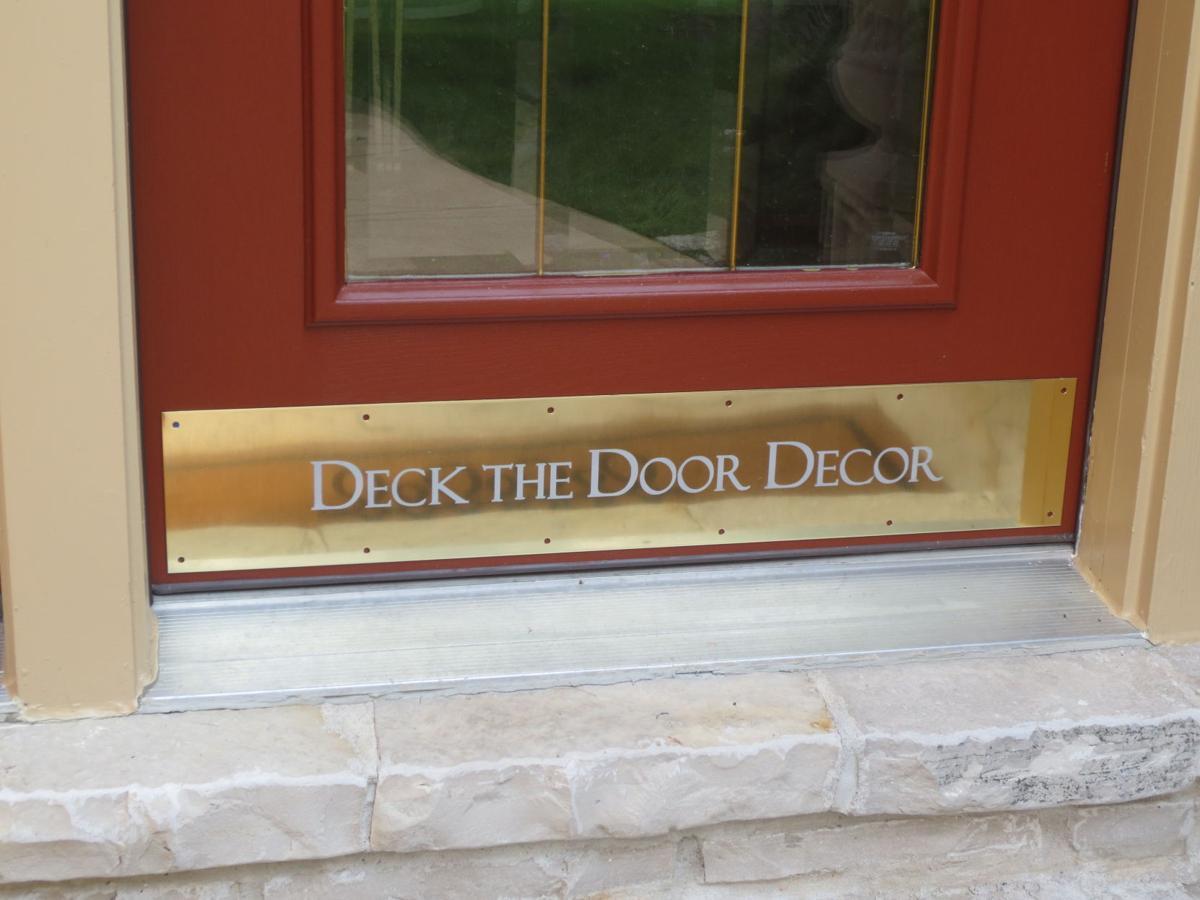 Deck the Door Decor Custom Brass Door Kick Plate.JPG