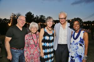 Ray Flunker, Elfriede Olney, Maureen Jennings, Tony Tasset, Clara Coleman