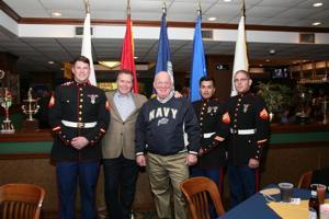 Sgt Biassett, Dr. Sean Bailey, Jim Naumann, Sgt Jaimes, Corp Chapman