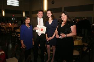 Dr. Renuka Patel, Josh and Sarah Goldman, Shanyna Warner