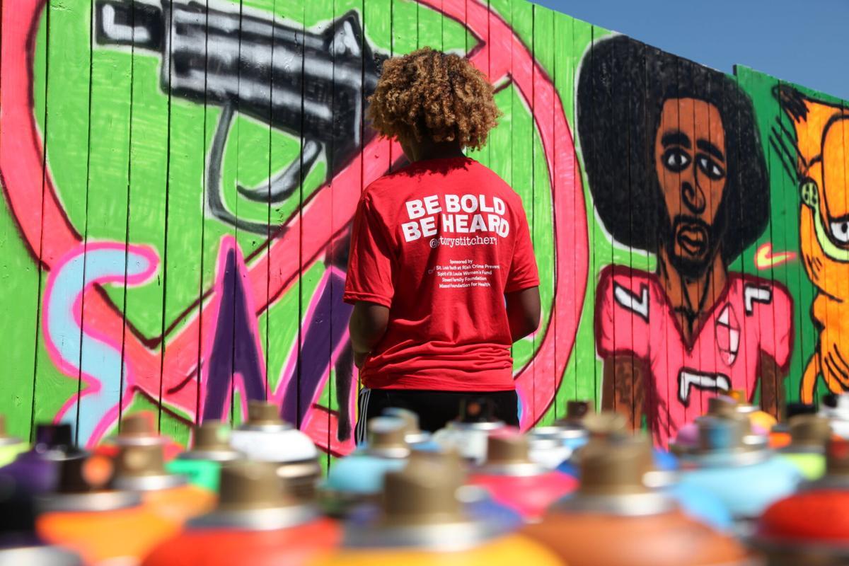 Emeara at the mural on MLK IMG_0681.JPG