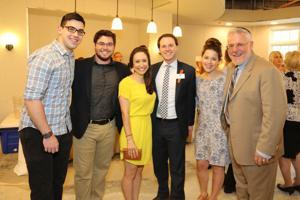 Benjy, Josh, Rachel, Zack, Gabby and Charlie Deutsch