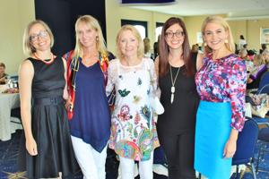 Jess Watson, Sherry Doster, Vicki Crawford, Gina Chisholm, Anne Allred