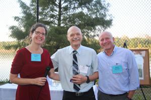 Kathleen Henry, President, Robert Criss awardee, Bruce Morrison