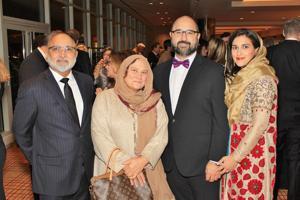 Dr. Naseer and Tanvir Ahmad, Dr. Umraan and Dr. Homaa Ahmad