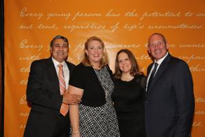 Amrit and Amy Gill, Kelly Duepner, Keith Levey