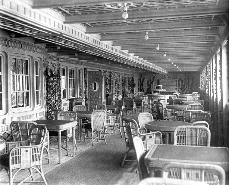 First Class Formal Dining Room Titanic Photos