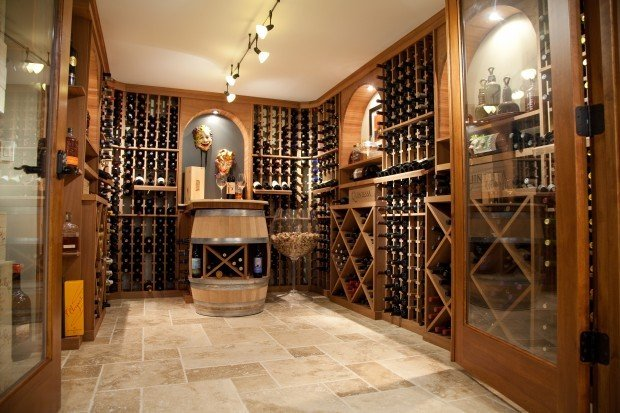 Ultimate home source wine cellar features for In home wine cellar