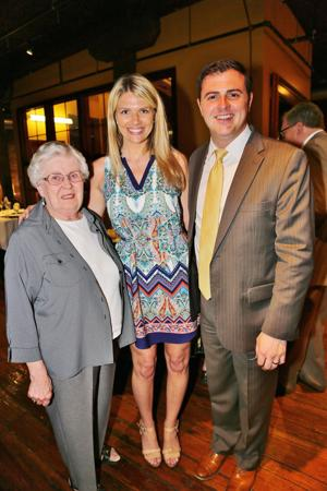 Sister Sharon Rose Terbrock, Claire and David Jackson