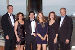 Denny and Michelle Reagan, Vince Garozzo, Michelle Murray, Marci Rosenberg, George Gladis