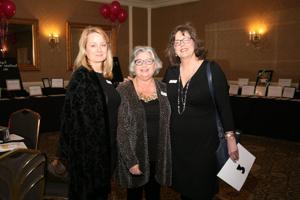 Teachers Kerri Rendleman, Kathy Hasse, Kebra Bocchini