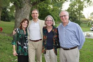 Laura and Rick Lageson, Susan Carlson, Gerald Greiman